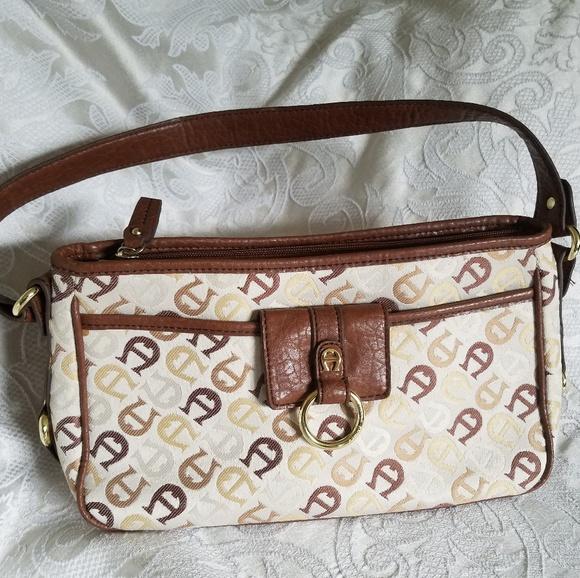7d8397de3e8932 Etienne Aigner Handbags - Etienne Aigner Logo Signature Handbag Leather
